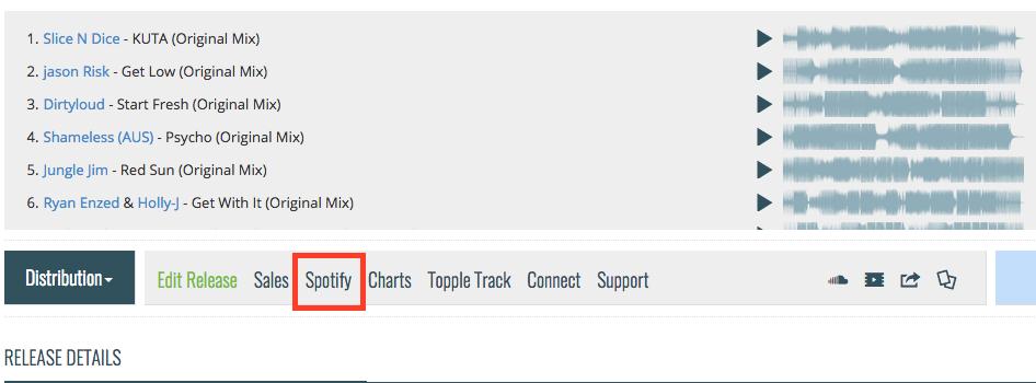 Spotify Stats Beta